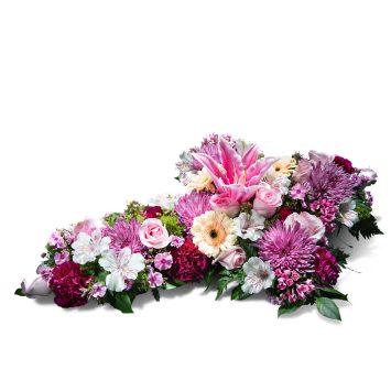 Cruz pequeña multicolor - Envío de Flores a Domicilio