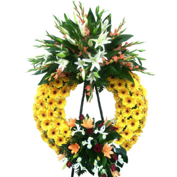 Corona de flores nº2