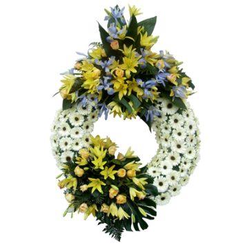 Corona de flores nº3