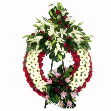 Corona de flores nº4