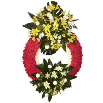 Corona de flores nº5