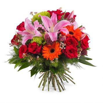 Ramo de flor variada - Envío de Flores a Domicilio