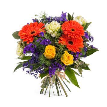 Arreglo con Gerberas y rosas - Envío de Flores a Domicilio