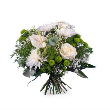 Ramo Primaveral con Anthurium y rosas - Envío de Flores a Domicilio