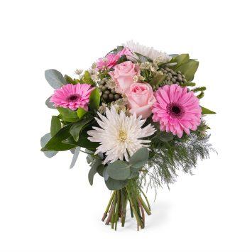 Ramo de Anastasias y Rosas - Envío de Flores a Domicilio