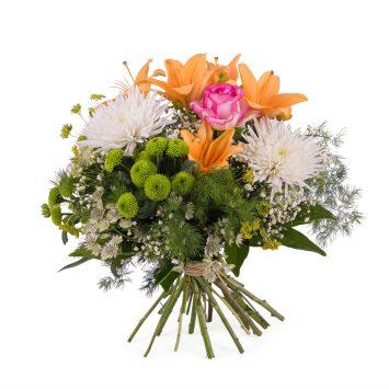 Ramo primaveral con Anastasias y Lilium - Env?o de Flores a Domicilio