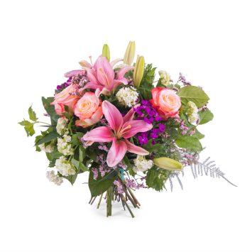 Ramo Primaveral multicolor - Envío de Flores a Domicilio