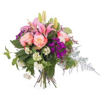 Ramo Primaveral multicolor - Env?o de Flores a Domicilio