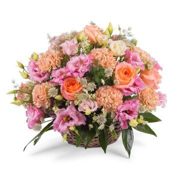 Centro romántico - Borgoña - Envío de Flores a Domicilio