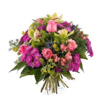 Ramo con rosas y orquideas - Env?o de Flores a Domicilio