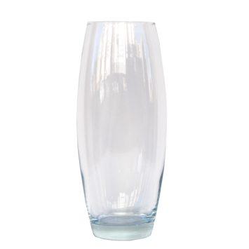 Jarrón de cristal ovalo