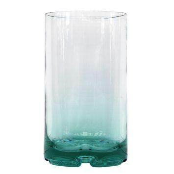 Jarrón de cristal tubo