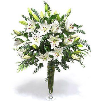 Ramo de flores funeral