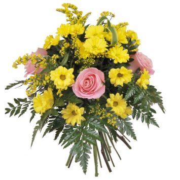 Ramo de flores alegría y felicidad