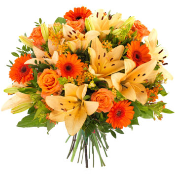Ramo de flores emociom