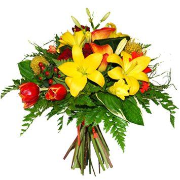 Ramo de flores eres un sol