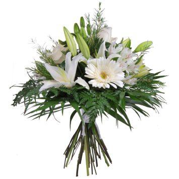 Ramo de flores gracias