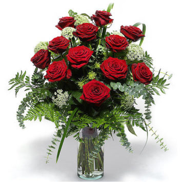 Ramo de rosas funeral