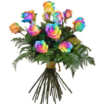 Ramo de rosas Rainbow