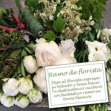 Enviar el Ramo de Florista - Blanco a domicilio
