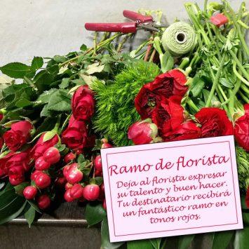 Enviar el Ramo de Florista - San Valentín a domicilio
